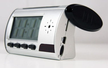Mini Digital Clock DVR Hidden Camera