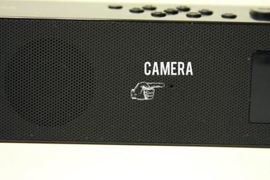 Digital Clock Radio Hidden Camera