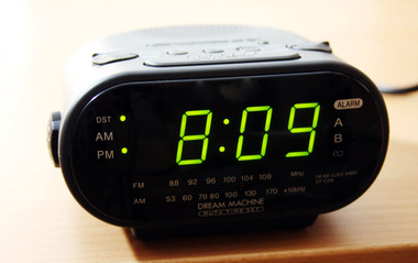 Dual Clock Hidden Spy Camera