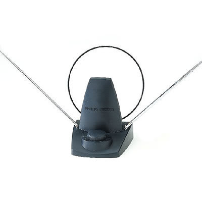 Indoor antenna wired hidden spy camera