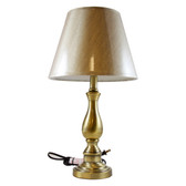 Table Lamp Wired Hidden Spy Camera