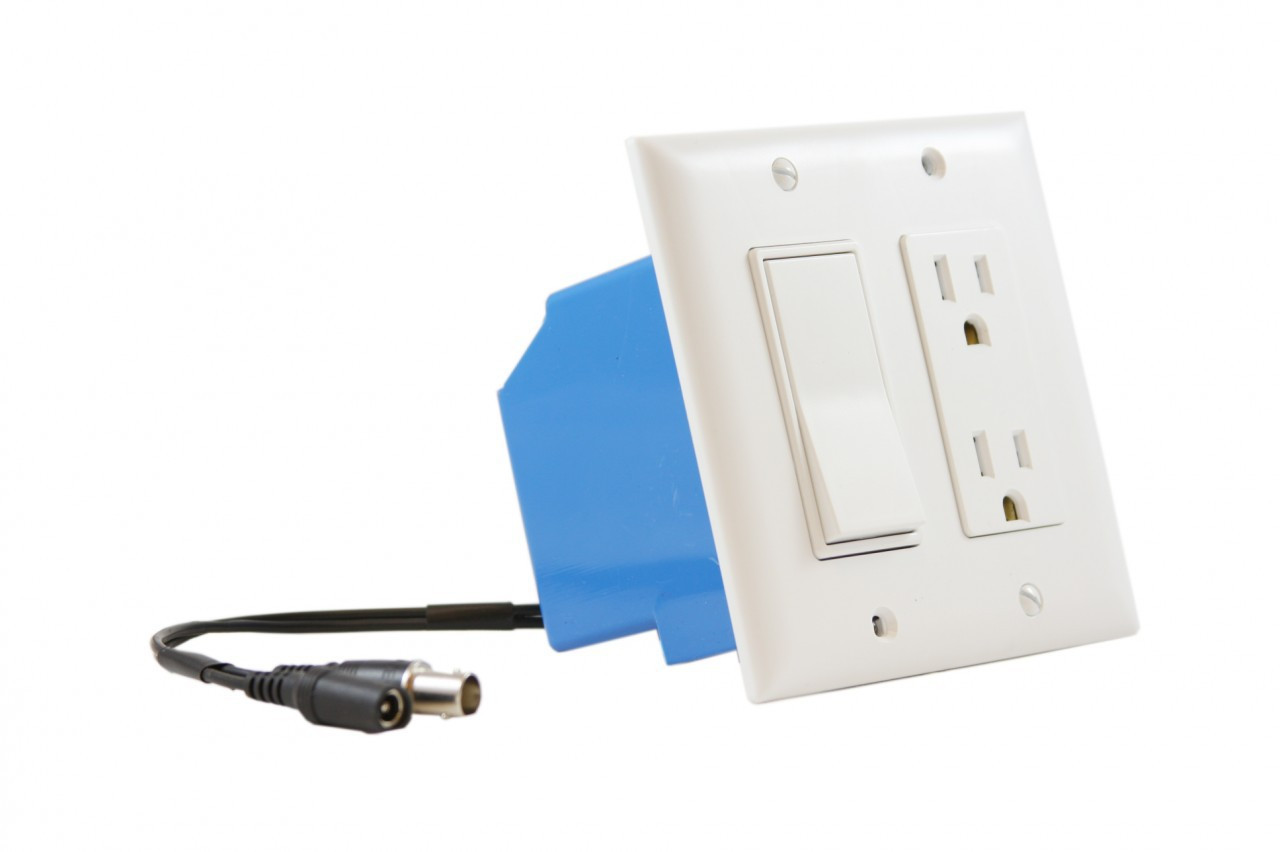 Wall Outlet/Switch Wired Hidden Spy Camera - DigiHiTech
