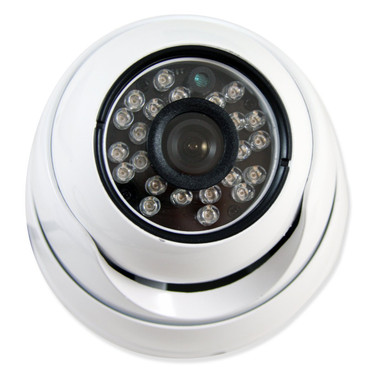 24 IR LED Armored 3.6mm Eyeball Dome Camera