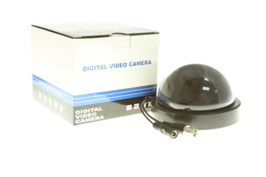 Refurbished 1/3-Inch Sony CCD 550 TVL 3.6 mm Day/Nigh IRIS Indoor Color Dome Camera