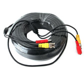 Five Star Cable Premade RG59 CCTV Combo Cable for TVI, CVI, AHD and HD-SDI camera system with BNC connectors and 2.1mm power jack for plug and play connections