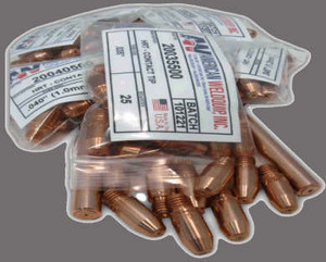 Copy of HRT Extended Life Contact Tip 100 pack - .045""