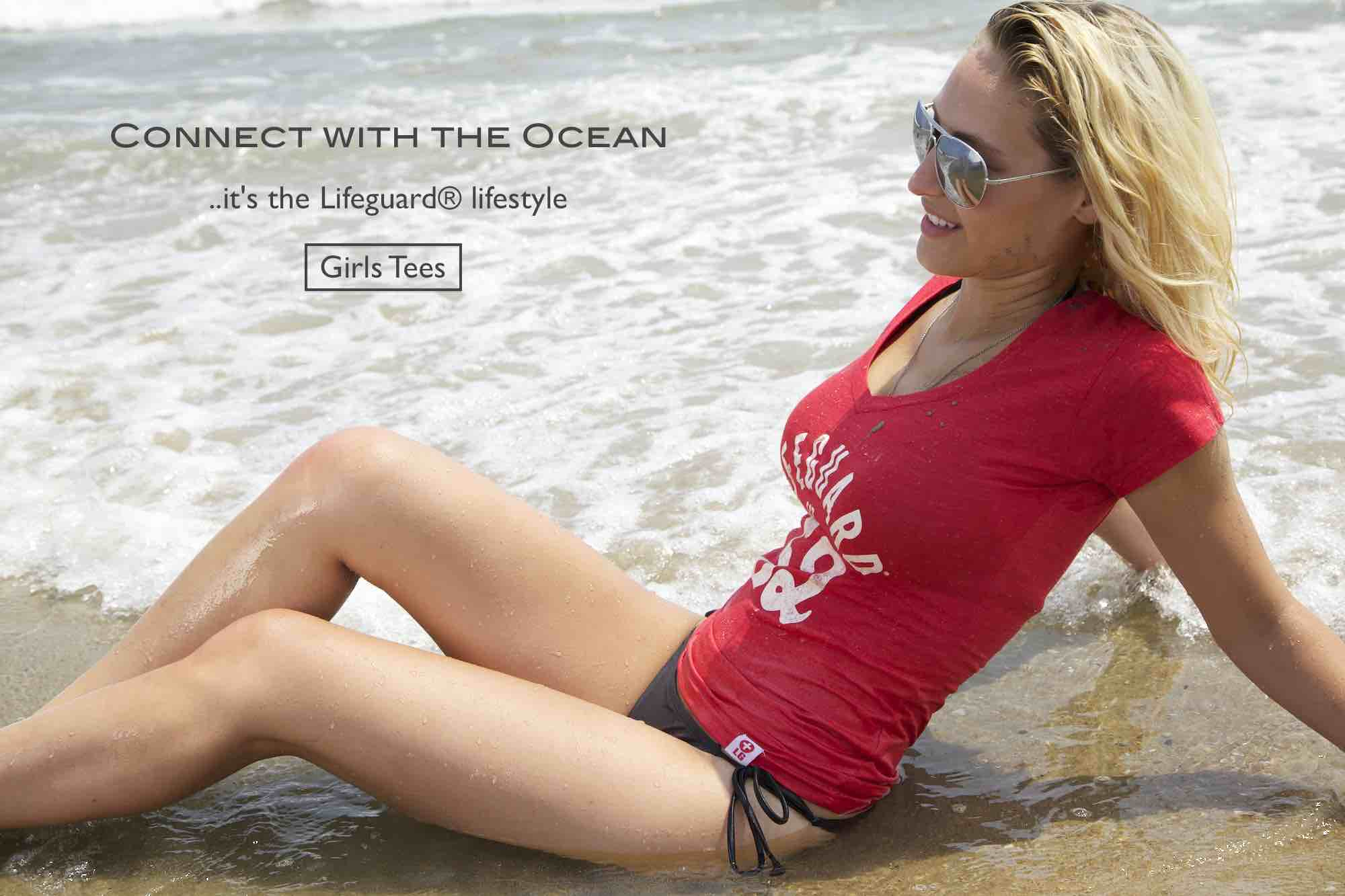 Girls Tees | Beach Lifeguard Apparel Online Store