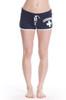 Black Ladies Hi-Cut Shorts | Beach Lifeguard Apparel Online Store