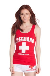 Ladies Jersey Cotton Tank Top | Beach Lifeguard Apparel Online Store