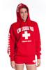 Full Ladies Iconic Hoodie   Beach Lifeguard Apparel Online Store