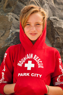 Youth Mountain Rescue Hoodie | Beach Lifeguard Apparel Online Store