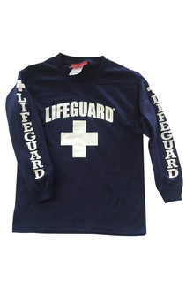 Youth Long Sleeve Tee | Beach Lifeguard Apparel Online Store