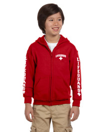 Youth Zip Up Hooded Sweatshirt