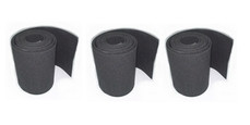 NAUTIX Boom Re-Grip set (black) - 1270 x 110 mm x 3strips