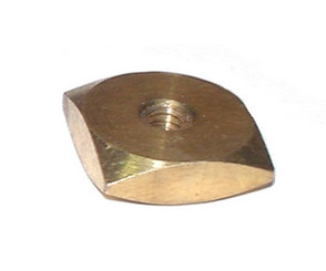 Square nut for US Box fins