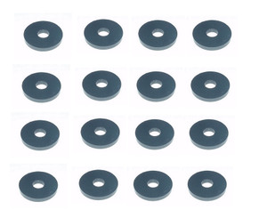 Rubber washer for M6 Windsurfing Fin Bolt - 200pcs pack