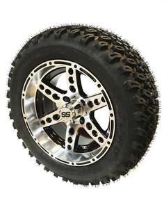 23 x 10.00-14 Duro Desert on Chaos Machined/Black Wheel