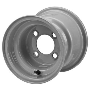 8 x 7 Gray Golf Cart Wheel