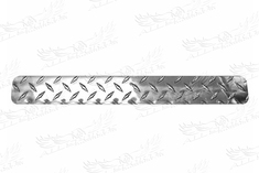 E-Z-Go TXT Diamond Plate Etiquette Cover