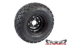 Black Steel Wheel STI ATX TRAIL