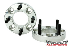 "1"" Billet Aluminum Wheel Spacers - Set of 2"