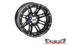 "STI Gloss Black HD3 12"" Wheel"