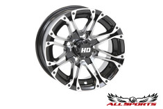 "STI Machined & Black HD3 12"" Wheel"