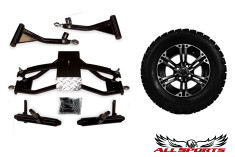 "23"" Slasher All Trail on ITP 212 Machined Rims  & Precedent 6"" A-Arm Combo"