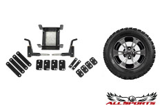 "E-Z-GO RXV 4"" Carrier Lift Kit w/ 10"" ITP SS112 STI ATX Trail"