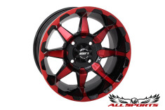 "STI HD6 Radiant 10"" Wheel - Red"