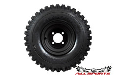 "8"" Steel Wheel on 18"" Duro Power Trail Tires"