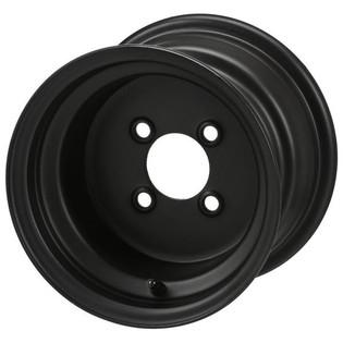 10 x 7 Flat Black Steel Wheel