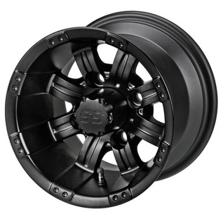 10 x 7 Matte Black Casino Wheel