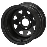 12 x 7 Black Steel Wheel