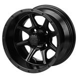 12 x 7 Matte Black Azusa Wheel