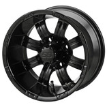 12 x 7 Matte Black Casino Wheel