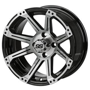14 x 7 Black Rampage Wheel