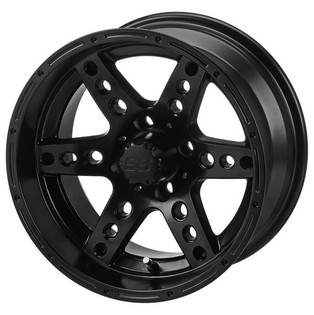 14 x 7 Matte Black Chaos Wheel