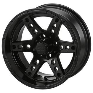 14 x 7 Matte Black Chaos Wheel