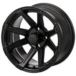 14 x 7 Matte Black Rampage Wheel