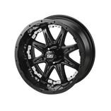 14 x 7 Matte Black Revenge Wheel with White Inserts