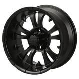 14 x 7 Matte Black Warlock Wheel