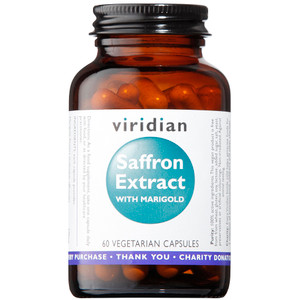 Viridian Saffron Extract 30mg With Marigold 60 Capsules
