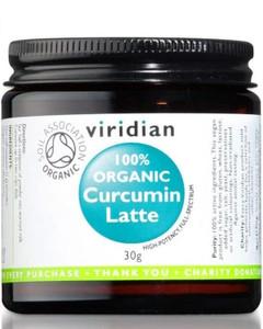 Viridian Organic Curcumin Latte 30g