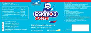 Nutri Advanced Eskimo-3 Extra 50 Capsules