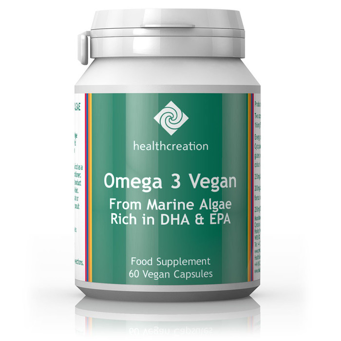 Cytoplan Health Creation: Omega 3 Vegan