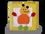 Mini Favor Boxes with Animal Motif Orange