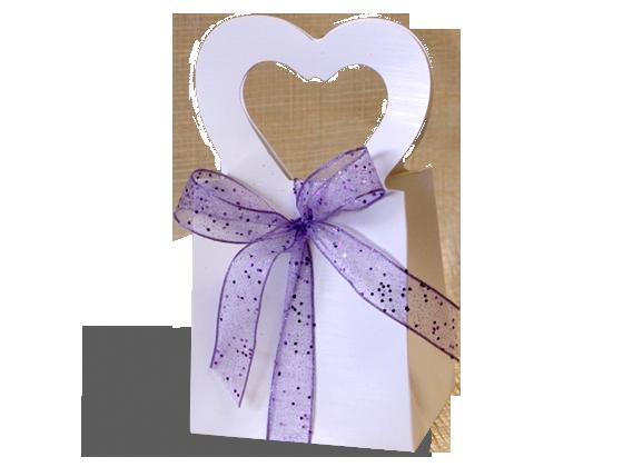 Favor Bags, Heart Shape Handles