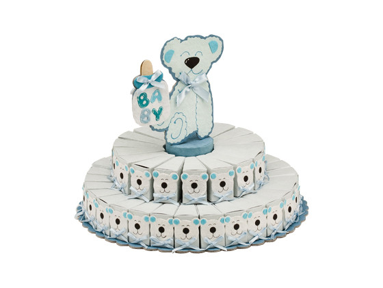 Teddy Bear Baby Shower Centerpiece Favor Boxes Favorvillage