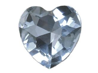Heart Shape Glass Rhinestone